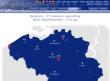 Coaster-Count: Karte von Belgien