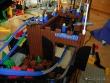 Achterbahn aus Lego